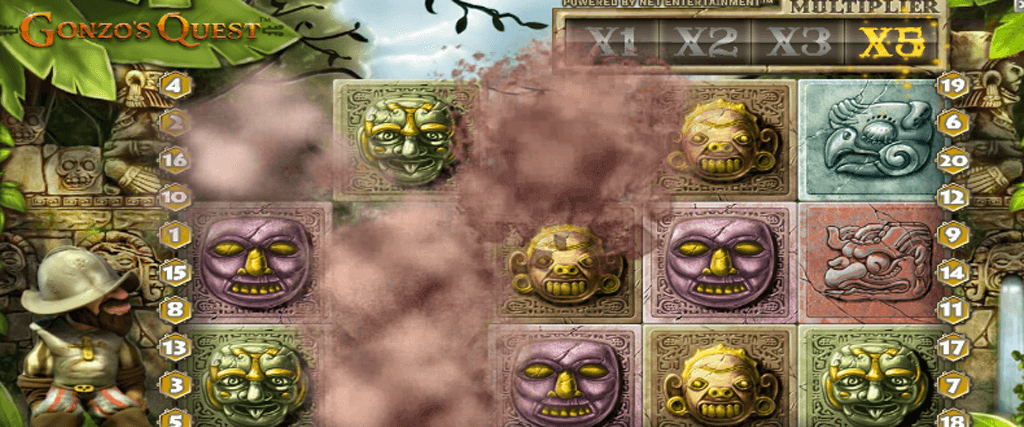 Gonzos Quest spelautomat