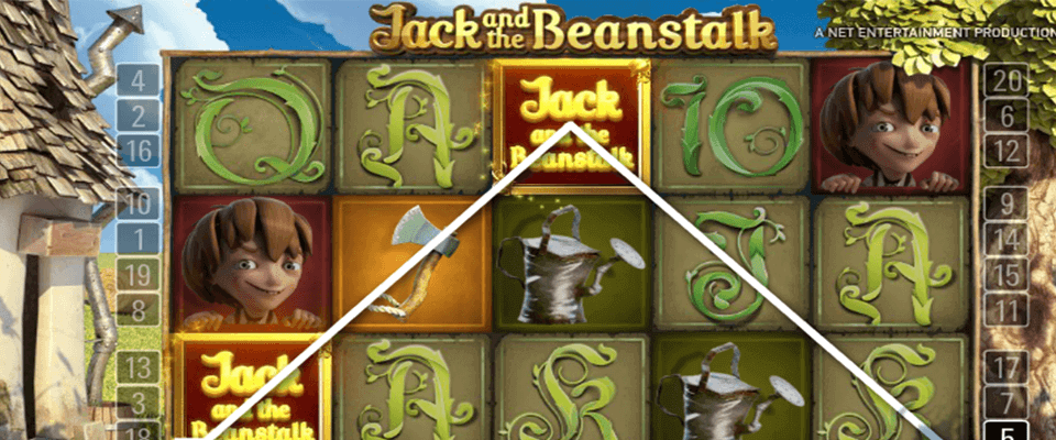 Jack and the beanstalk spelautomat