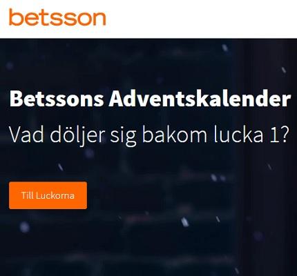Betssons Adventskalender 2019 är här!