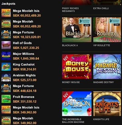 Mega Moolah Jackpot är nu över 60 miljoner svenska kronor!
