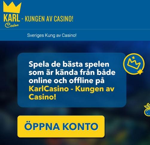 Spela hos KarlCasino nu!