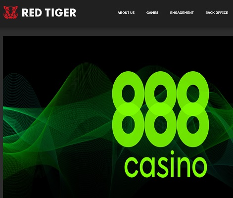 Red Tiger Gaming i Spanien med 888casino!