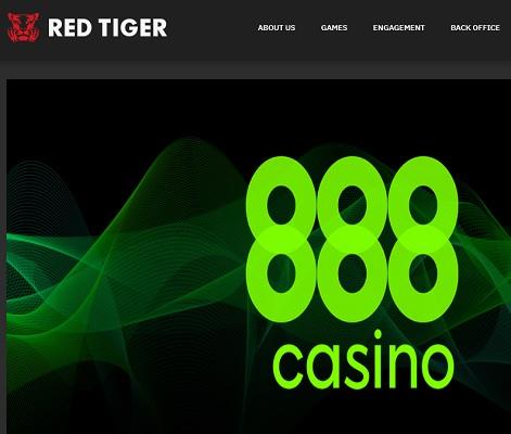 888casino lanserar spel från Red Tiger Gaming i Spanien!